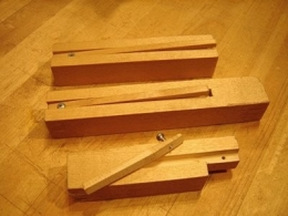 Homemade Bench Dogs