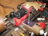 Toolpost Grinder Mount