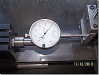 Dial Indicator Attachment for Taig Lathe