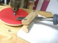 Drill Press Sharpening Jig