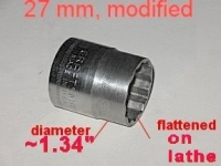 Swingarm Nut Socket