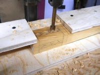 Drill Press Mortising Jig