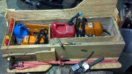 Homemade Chainsaw Storage Box