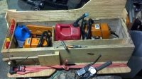 Chainsaw Storage Box