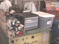 Welding Supplies Storage Solution