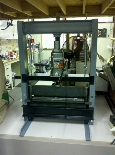 Homemade Shop Press Homemadetools Net