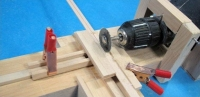 Mini Circular Saw and Lathe