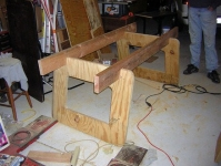 Knockdown Sawhorse and Table Support