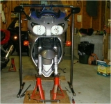 Motorcycle Front End Support Stand