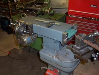 Belt Grinder with Notching Attachment