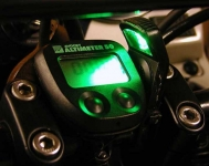 Motorcycle Auxiliary Gauge Light