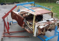 Engine Crane Body Lift