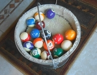 Billiard Ball Polisher