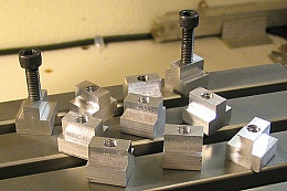 t nuts for milling machine