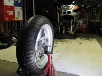 Motorcycle Tire Balancer