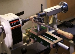 Lathe Cross Slide for Wood