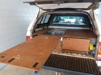 Pickup Storage Drawers and Workbench