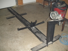 Homemade Motorcycle Lift