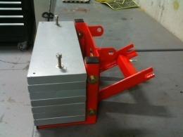 Homemade Tractor Front Weight Attachment Homemadetools Net