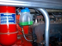 Tractor Coolant Recovery System