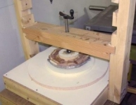 Veneer and Ring Gluing Press