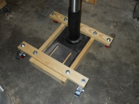 Mobile Drill Press Base