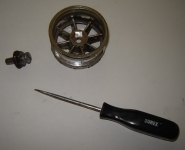 RC Wheel Lathe Adaptor