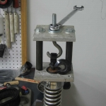Shock Absorber Spring Compressor