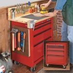 Tool Cabinet Workbench