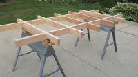 Plywood Cutting Table