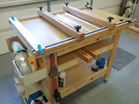 Cutting Board Glue Up Table