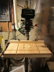Drill Press Table and Accessories