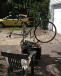 Portable Bicycle Workstand