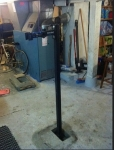 Floor-Anchored Workstand