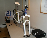 Bicycle Work Table