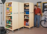 Movable Garage Cabinets