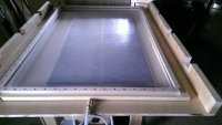 Veneer Press Frame and Table