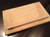 Sandpaper Cutting Jig