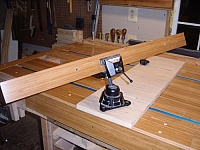 Workbench from Solid Door