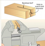 Bolt Cutting Fixture