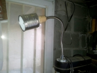 Tin Can Magnetic Lamp