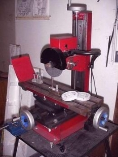Homemade Surface Grinder