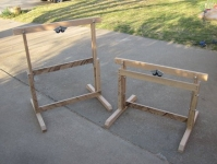 Adjustable Sawhorses
