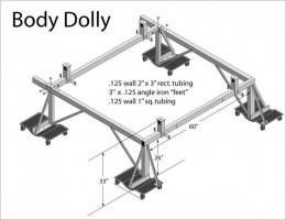 Adjustable Body Dolly