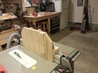 Table Saw Tenon Jig