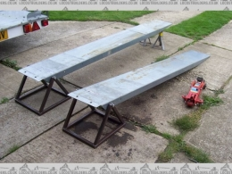 Homemade ramp stands Car lift plans