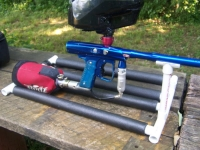 Paintball Gun Stand