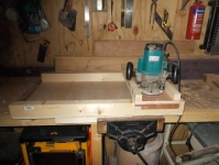 Router Planing and Thicknessing jig