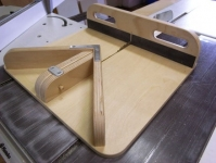 Miter and Crosscut Sled