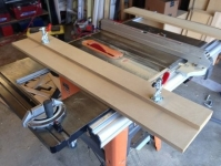 Table Saw Jointer Sled